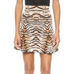 Ronny Kobo tiger print skirt